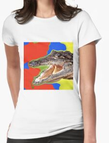CROCODILE-2 Womens Fitted T-Shirt