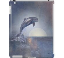Joy Of The Leaping Dolphin iPad Case/Skin