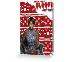 HTGAWM - Bloody good Christmas [Annalise] Greeting Card
