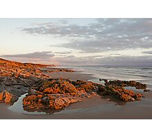 Beach at Ogmore on sea Photographic Print