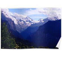 Lauterbrunnen Valley  Poster