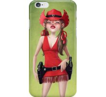 Cowgirl iPhone Case/Skin