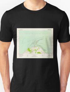 USGS Topo Map Washington State WA Dungeness 240901 1956 24000 T-Shirt