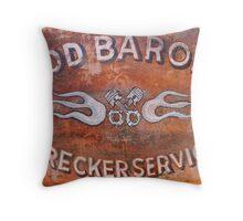 Rod Baron Wall Part Throw Pillow