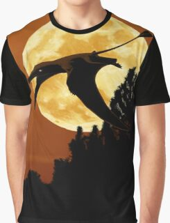 Rhamphorhynchus Moon Graphic T-Shirt