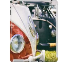 VW buses on display iPad Case/Skin
