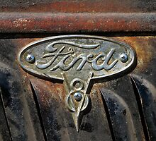 Ford Badge Wall Art by HoskingInd