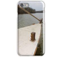 Keel Boat Rudder Oar iPhone Case/Skin