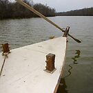 Keel Boat Rudder Oar by WildestArt