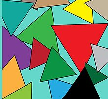 Coloured triangles by PJ Fowler