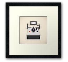 instant camera Framed Print
