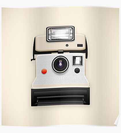 instant camera Poster