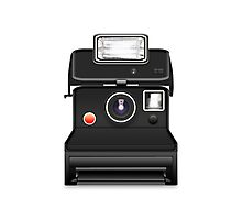 instant camera Photographic Print
