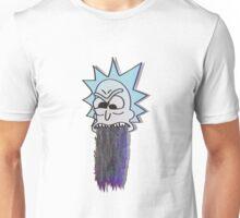 RICK GLITCH THROW UP Unisex T-Shirt