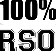 100 PERSONS Sticker