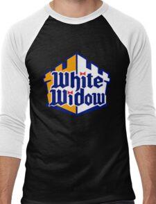 White Widow Men's Baseball ¾ T-Shirt