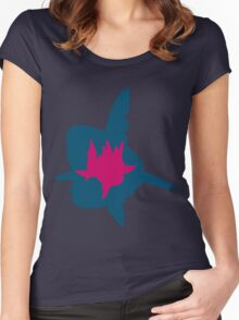 PKMN Silhouette - Carvanha Family Women's Fitted Scoop T-Shirt