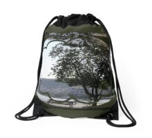 spherical point of view Drawstring Bag