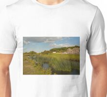 Ogmore river & ruin Unisex T-Shirt