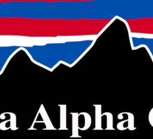 Kappa Alpha Order Red White and Blue Sticker