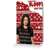 HTGAWM - Bloody good Christmas [Lauren] Greeting Card