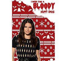 HTGAWM - Bloody good Christmas [Lauren] Photographic Print
