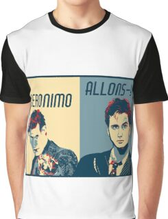 10th and 11th Doctor Graphic T-Shirt