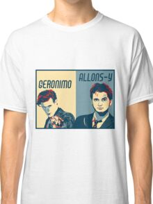 10th and 11th Doctor Classic T-Shirt