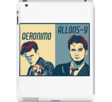 10th and 11th Doctor iPad Case/Skin