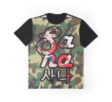 Twice Camo (Sana-picture) Graphic T-Shirt