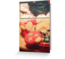 Sweet Christmas card Greeting Card
