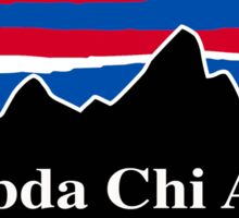 Lambda Chi Alpha Red White and Blue Sticker