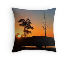 Thornlands Sunset - Qld Australia Throw Pillow