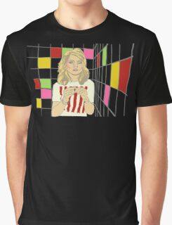 Debbie with coloured blocks Graphic T-Shirt