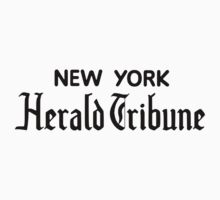 """New York Herald Tribune!""  Kids Clothes"