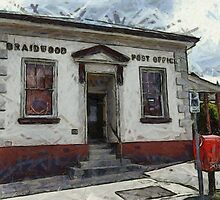 Braidwood Post Office by Fran Woods