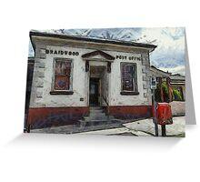 Braidwood Post Office Greeting Card