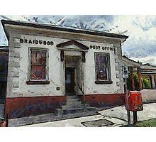 Braidwood Post Office Photographic Print