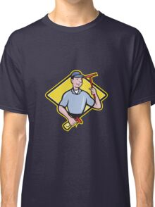 Window Cleaner With Squeegee  Classic T-Shirt