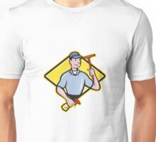 Window Cleaner With Squeegee  Unisex T-Shirt