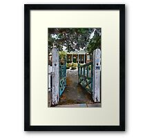Gateway to Old Court House Framed Print