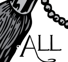 All life is precious Sticker