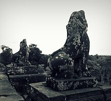 Cambodian Lions by PurpleAardvark