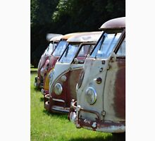 VW Buses Lined up Unisex T-Shirt