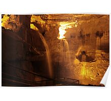 Cathedral Cave, National Showcaves, Brecon Poster