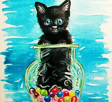 Little OJ...painting :) by karina73020