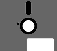 Floppy disk retro Ipad Case by dgoring