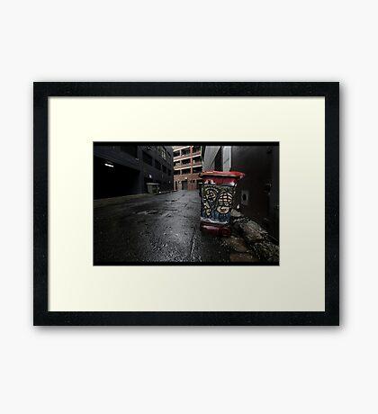 Whatev Framed Print