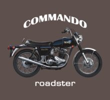Norton Commando Roadster by Tony  Newland
