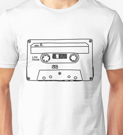 Retro Cassette Tape Unisex T-Shirt